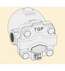 MODEL :TSF-8  BẨY HƠI  YOSHITAKE- NHẬT-BẪY HƠI TSF-8